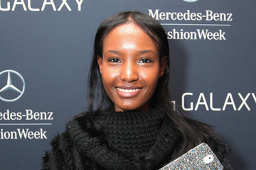 Fatima Siad Samsung at Mercedes-Benz Fashion Week Fall 2014 - Day 4