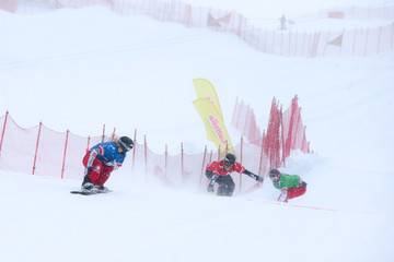 Faye Gulini FIS Freestyle Ski World Cup - Men's and Women's Snowboardcross