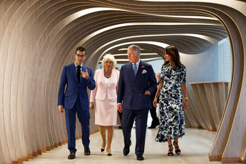 Federico Marchetti The Prince Of Wales And The Duchess Of Cornwall London Engagements