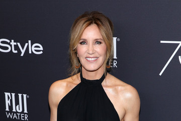Felicity Huffman FIJI Water at the Hollywood Foreign Press Association and InStyle's Celebration of the 2018 Golden Globe Awards Season