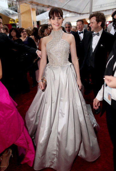Felicity Jones - Arrivals at the 87th Annual Academy Awards — Part 2