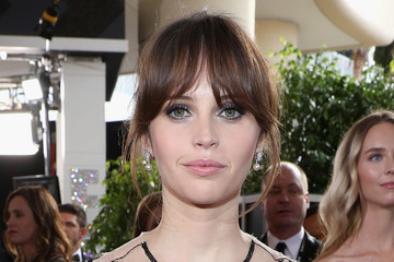 Felicity Jones FIJI Water at the 74th Annual Golden Globe Awards