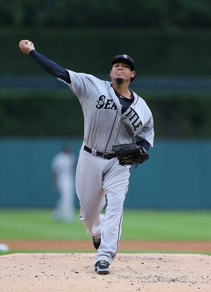 Felix Hernandez - Seattle Mariners v Detroit Tigers