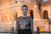 Vittoria Puccini attends the Cocktail at Fendi Couture Fall Winter 2019/2020 on July 04, 2019 in Rome, Italy.