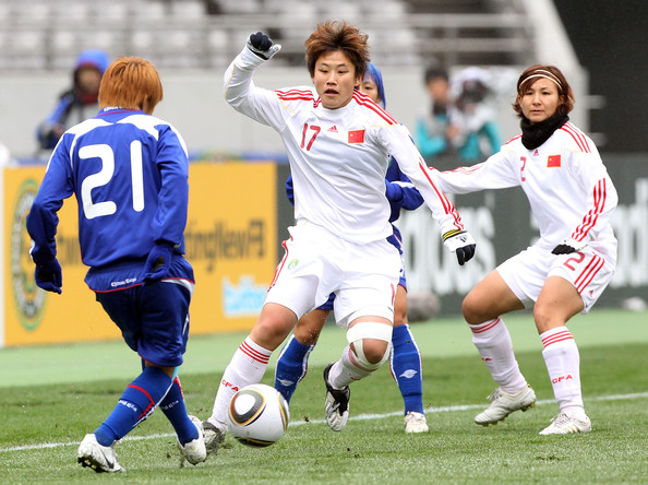 Chinese Taipei v China - EAFF Women's Football Championship 2010