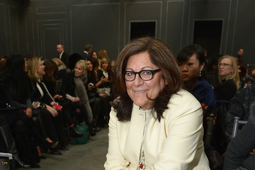 Fern Mallis Vera Wang Collection - Front Row - Mercedes-Benz Fashion Week Fall 2014