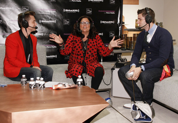 Fashion's Night Out At SAKS Fifth Avenue [red,event,design,news conference,fern mallis,tim morehouse,lance bass,l-r,saks fifth avenue,new york city,fashion,night out]