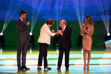 Fernanda Lima FIFA World Cup Final Draw