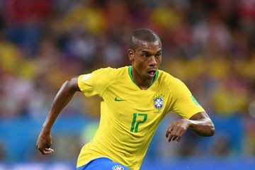 Fernandinho Brazil vs. Switzerland: Group E - 2018 FIFA World Cup Russia