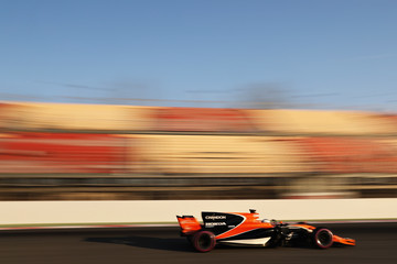 Fernando Alonso F1 Winter Testing In Barcelona - Day Four