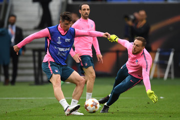 Fernando Torres Olympique de Marseille v Club Atletico de Madrid - UEFA Europa League Final Previews