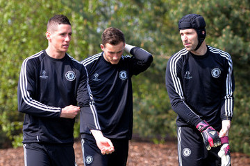 Fernando Torres Chelsea FC Training Session