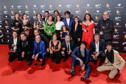 All the winners during Feroz Awards 2018 at Magarinos Complex on January 22, 2018 in Madrid, Spain.
