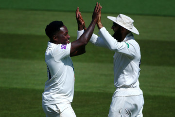 Fidel Edwards Surrey vs. Hampshire - Specsavers County Championship: Division One
