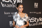 Zendaya attends the Fifth Annual InStyle Awards at The Getty Center on October 21, 2019 in Los Angeles, California.