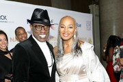 Wesley Snipes and Susan L. Taylor attend the Fifth Annual National CARES Mentoring Movement Gala at Cipriani Wall Street on February 10, 2020 in New York City.