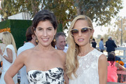 President of Veuve Clicquot USA Vanessa Kay (L) and designer Rachel Zoe attend the Fifth-Annual Veuve Clicquot Polo Classic at Will Rogers State Historic Park on October 11, 2014 in Pacific Palisades, California.