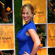 Christine Kaculis The Fifth Annual Veuve Clicquot Polo Classic - Red Carpet Arrivals