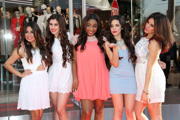 Fifth Harmony Topshop Topman British Street Party To Celebrate The LA Opening Moment - Arrivals