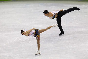 Dan Zhang Figure Skating - Day 3