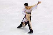 Dan Zhang and Hao Zhang of China compete in the figure skating pairs short program on day 3 of the Vancouver 2010 Winter Olympics at Pacific Coliseum on February 14, 2010 in Vancouver, Canada.