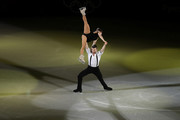 Meagan Duhamel and Eric Radford of Canada perform during the Figure Skating Gala Exhibition on day 16 of the PyeongChang 2018 Winter Olympics at Gangneung Ice Arena on February 25, 2018 in Gangneung, South Korea.