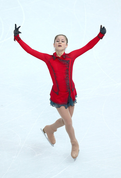 Figure Skating Lipnitskaia Figure Skating Winter
