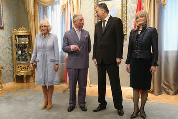 Filip Vujanovic The Prince of Wales and The Duchess of Cornwall Visit Montenegro