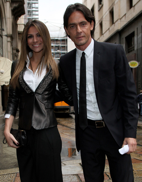 Filippo Inzaghi with Single