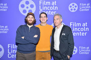 (L-R) Josh Safdie, Benny Safdie and Ronald Bronstein attend the Film at Lincoln Center 2020 Annual Luncheon at Lincoln Ristorante on January 07, 2020 in New York City.