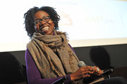 """Actress Adepero Oduye speaks at the Film Society Of Lincoln Center screening of """"Pariah"""" at the Elinor Bunin Munroe Film Center on December 29, 2011 in New York City."""