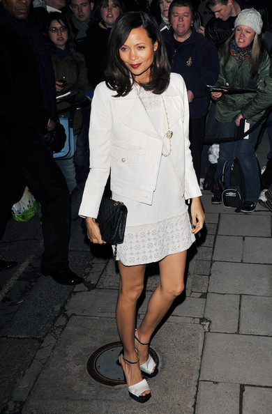 Thandie Newton arrives for the Finch And Partners' Pre-BAFTA Party at Marks' Club on February 12, 2011 in London, England.