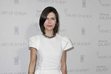 Finola Hughes The Art Of Elysium And Samsung Galaxy Present Marina Abramovic's HEAVEN - Arrivals