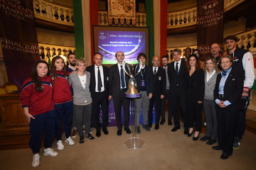 Fiona May UEFA Women's Champions League Final Presentation