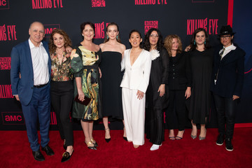 Fiona Shaw Sally Woodward Gentle Premiere Of BBC America And AMC's 'Killing Eve' Season 2 - Red Carpet