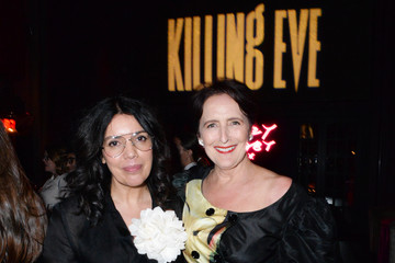 Fiona Shaw Sarah Barnett 'Killing Eve' Premiere Event – Red Carpet, Screening, And After Party