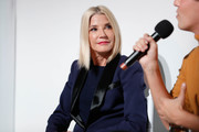 Candace Bushnell attends Fire TV Presents: Love on Screen Panel & Screening Event at Museum of Modern Love on October 11, 2019 in New York City.