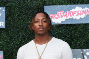 Lecrae Devaughn Moore aka Lecrae attends First Day Of Summer x Athletes vs. Cancer at SkyBar at the Mondrian Los Angeles on June 21, 2018 in West Hollywood, California.