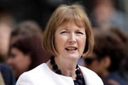 Labour MP Harriet Harman attends the official unveiling of a statue in honour of the first female Suffragist Millicent Fawcett in Parliament Square on April 24, 2018 in London, England. The statue of women's suffragist leader Millicent Fawcett is the first monument of a woman and the first designed by a woman, Turner Prize-winning artist Gillian Wearing OBE, to take a place in parliament Square.
