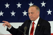 U.S. Rep. Steve King (R-IA) speaks at the First in the Nation Republican Leadership Summit April 17, 2015 in Nashua, New Hampshire. The Summit  brought together local and national Republicans and was attended by all the Republicans candidates as well as those eyeing a run for the nomination.