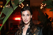 Rainey Qualley attends Flaunt and /Nyden Celebrate The New Fantasy Issue with a dinner honoring Hari Nef at The Hollywood Roosevelt Hotel on April 11, 2018 in Los Angeles, California.