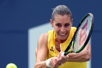 Flavia Pennetta Rogers Cup Toronto - Day 2