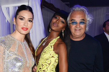 Flavio Briatore Naomi Campbell's Birthday Party At The Billionaire's Club With BringBackOurGirls
