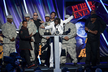 Flavor Flav Professor Griff Rock and Roll Hall of Fame Induction Ceremony