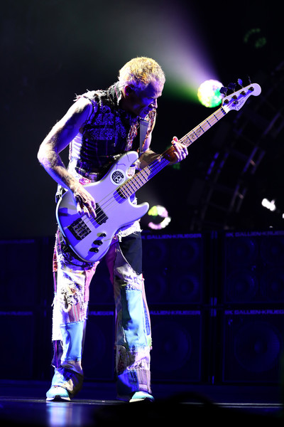 The Red Hot Chili Peppers Perform In Auckland