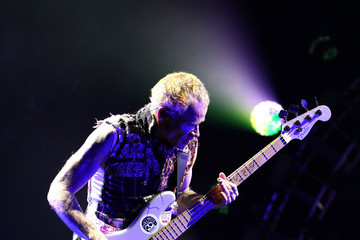 Flea The Red Hot Chili Peppers Perform In Auckland