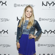 Fleur De Force NYX Cosmetics Talent Lounge At BeautyConNYC