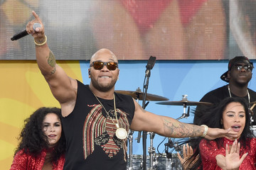 Flo Rida Flo Rida Performs During ABC's 'Good Morning America' 2016 Summer Concert Series