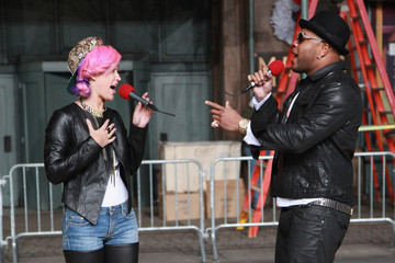 Flo Rida Stayc Reign 86th Anniversary Macy's Thanksgiving Day Parade Rehearsals - Day 2