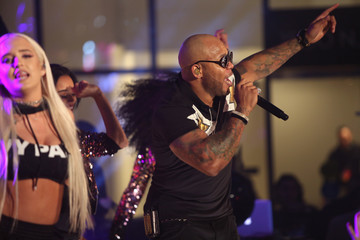 Flo Rida Viacom Hollywood Office Grand Opening
